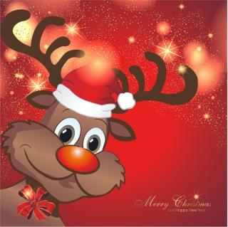 Weihnachtsbilder Elch.Wallpaper Tierbilder Weihnachtlich Weihnachtsgrussbilder